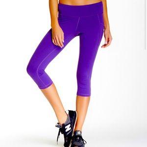 purple lucy workout leggings
